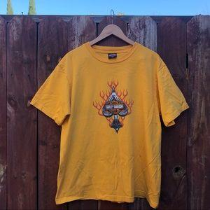 Harley Davidson shirt spade Santa Cruz California